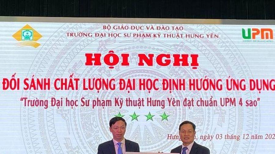 Trường Đại học Sư phạm Kỹ thuật Hưng Yên đạt chuẩn UPM 4 sao