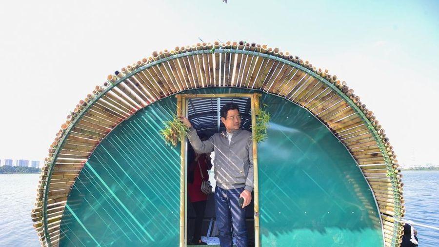 Cận cảnh nhà chống lũ thế hệ mới, giá rẻ tại Hà Nội