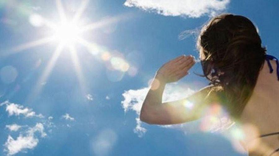 Từ ngày 4-6/12, chỉ số UV có nguy cơ gây hại cao tại nhiều địa phương