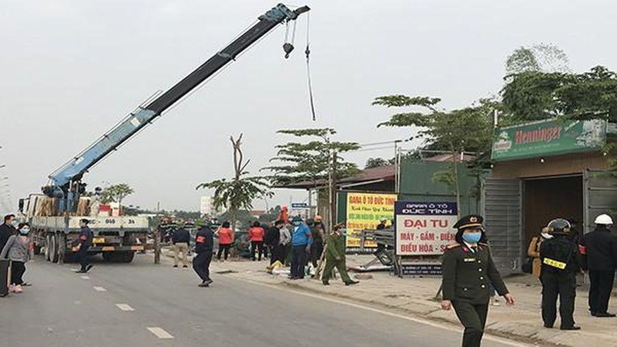 Vĩnh Yên (Vĩnh Phúc): Tiến hành cưỡng chế các hộ xây dựng công trình trái phép