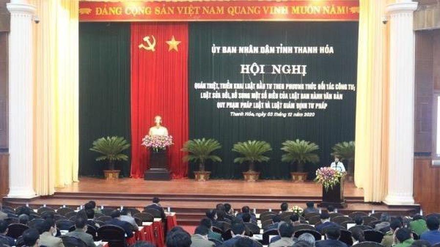 Thanh Hóa: quán triệt, triển khai một số văn bản pháp luật mới