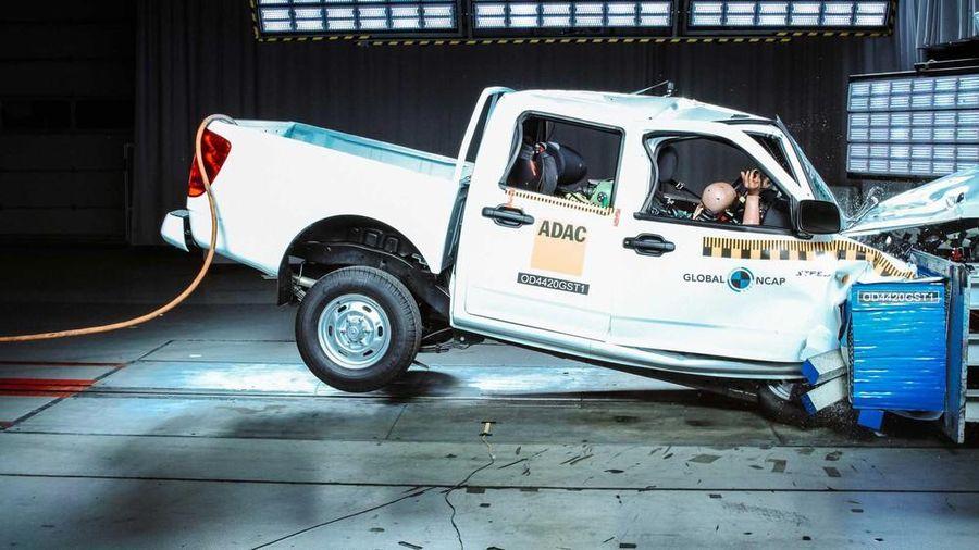 Xe bán tải Trung Quốc đạt '0 sao' về an toàn