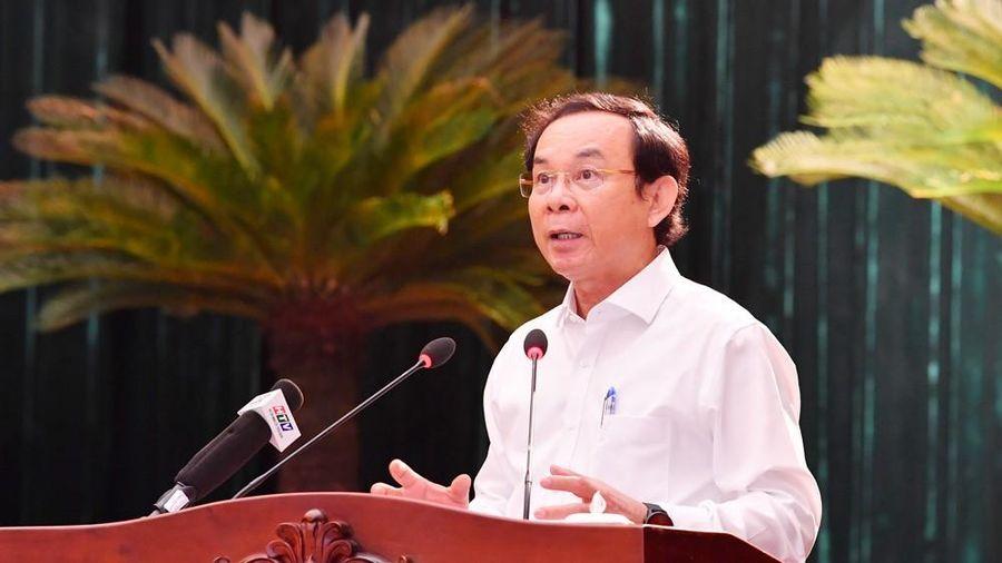 Bí thư TPHCM Nguyễn Văn Nên nói về xử lý sai phạm ở Thủ Thiêm