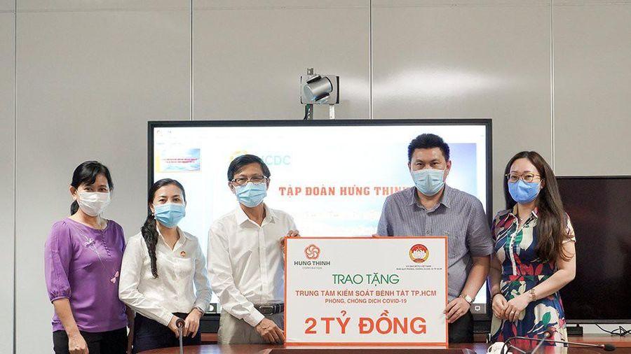 Tập đoàn Hưng Thịnh tặng 2 tỷ đồng cho Trung tâm Kiểm soát bệnh tật TPHCM