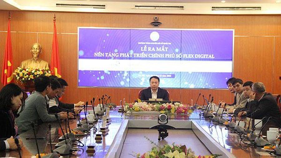 Phát triển Chính phủ số dựa trên nền tảng công nghệ mở