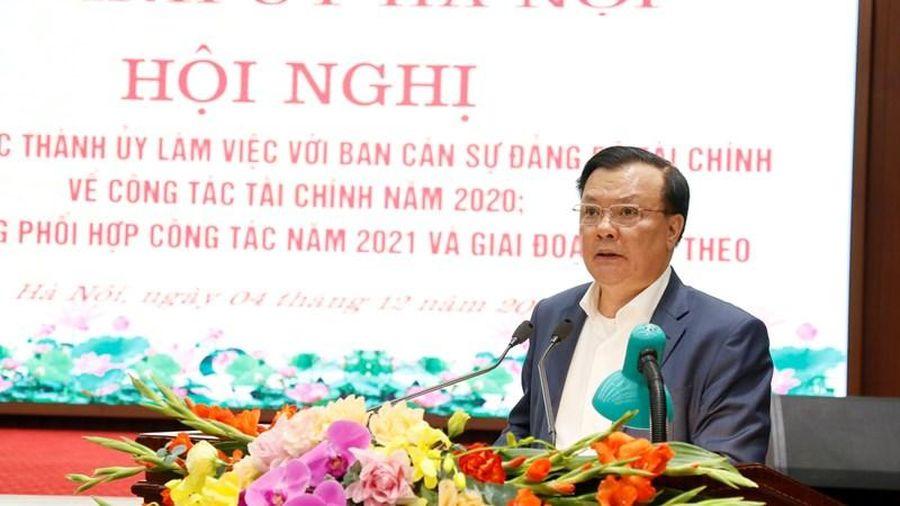TP. Hà Nội cần tiếp tục đẩy mạnh các giải pháp tăng thu ngân sách, giải ngân vốn đầu tư công