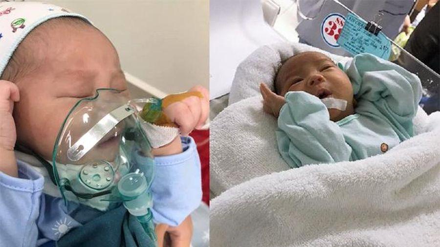 Con trai hơn 1 tháng mắc bệnh hiểm nghèo không tiền chữa trị, mẹ đơn thân bất lực cầu cứu