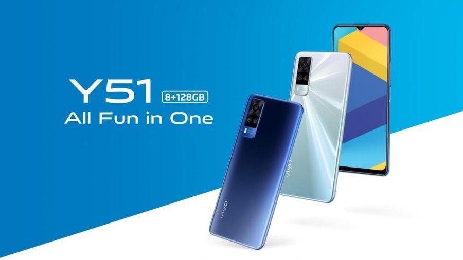 Vivo Y51 mới: pin và màn hình lớn hơn, giá 5,8 triệu