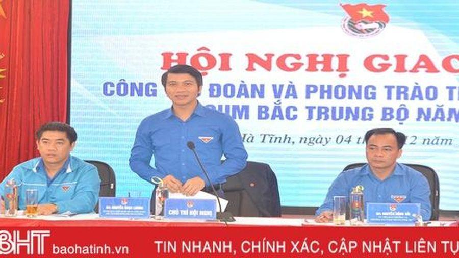 Đoàn các cấp cụm Bắc Trung Bộ thi đua lập thành tích chào mừng Đại hội lần thứ XIII của Đảng