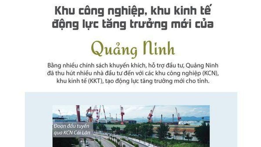 Khu công nghiệp, khu kinh tế - động lực tăng trưởng mới của Quảng Ninh