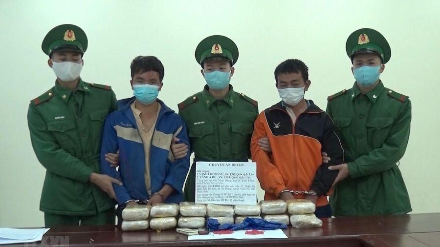 Điện Biên: Bắt giữ 2 người nước ngoài mua bán, vận chuyển ma túy