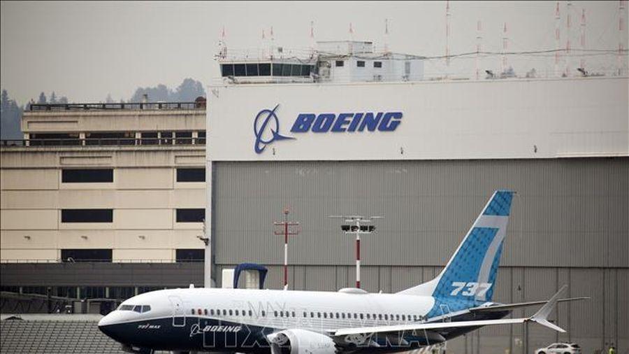 Boeing ký hợp đồng máy bay 737 MAX đầu tiên sau 20 tháng bị cấm bay