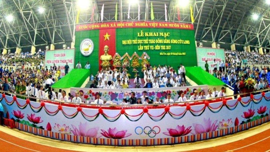 Khai mạc Đại hội Thể thao Đồng bằng sông Cửu Long lần thứ VIII