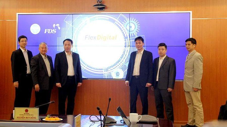 Nền tảng mở Flex Digital đáp ứng phát triển Chính phủ số