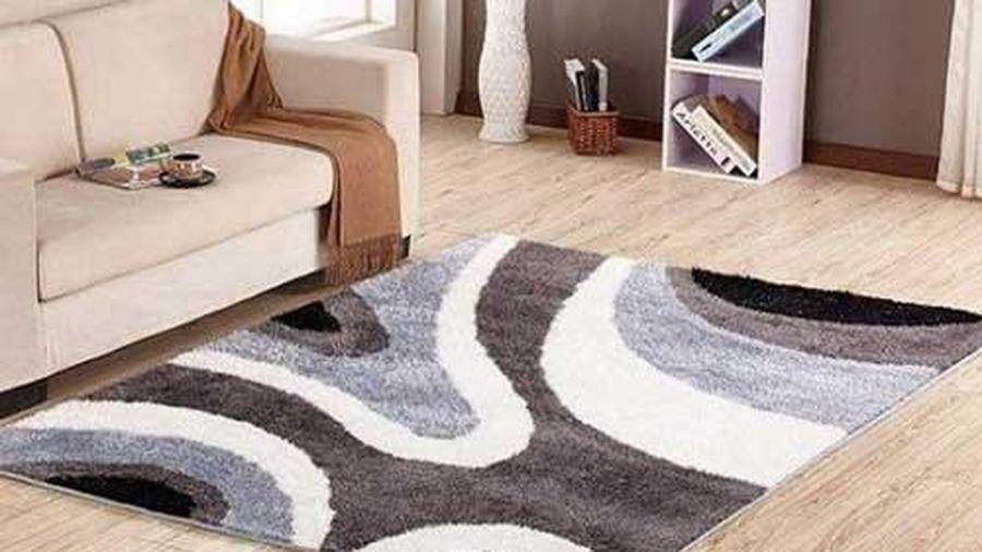 Mẹo nhỏ làm sạch thảm trải sàn không cần dùng máy hút bụi