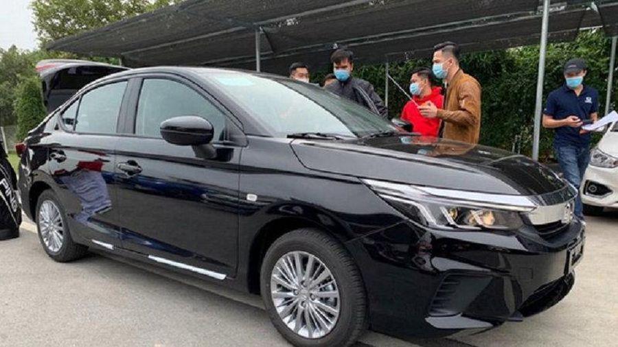 Honda City G 2021 lộ diện, tăng cạnh tranh trong phân khúc sedan hạng B