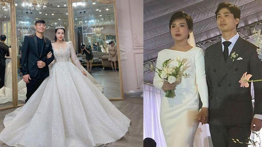 Sau Công Phượng, làng bóng đá Việt Nam lại chứng kiến đám cưới khủng