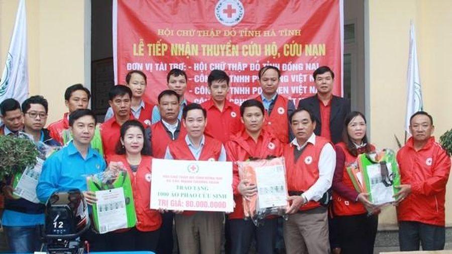 Hội Chữ thập đỏ tỉnh Đồng Nai ủng hộ miền Trung gần 2 tỷ đồng