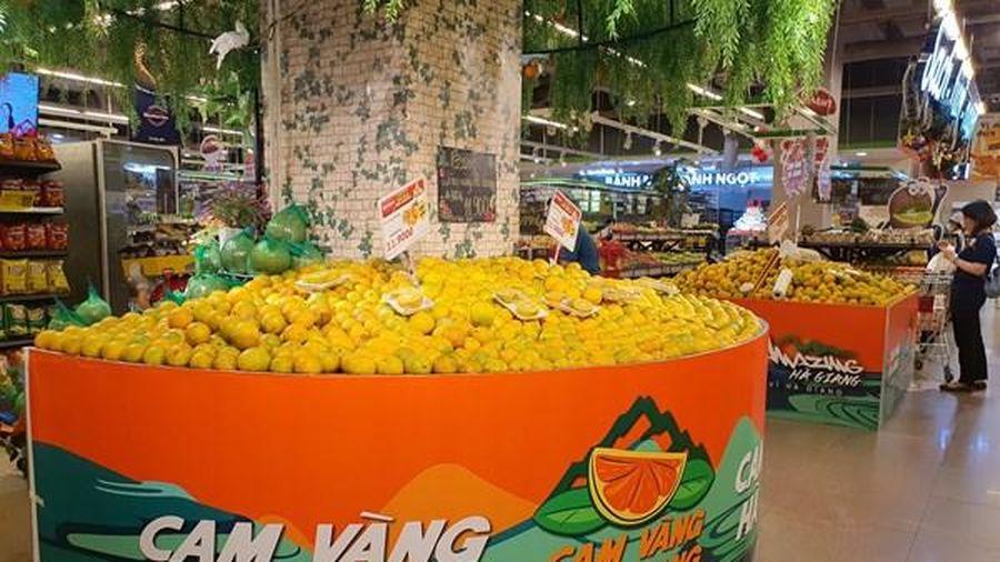 Thưởng thức cam và sản phẩm OCOP của Hà Giang ngay tại Thủ đô Hà Nội