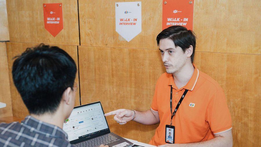 Hơn 1000 ứng viên đăng ký tuyển dụng 'Walk-in Interview' tại FPT Software