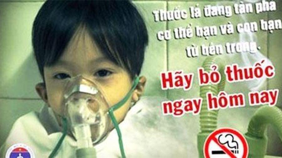 Ảnh hưởng của hút thuốc lá thụ động tới sức khỏe trẻ em