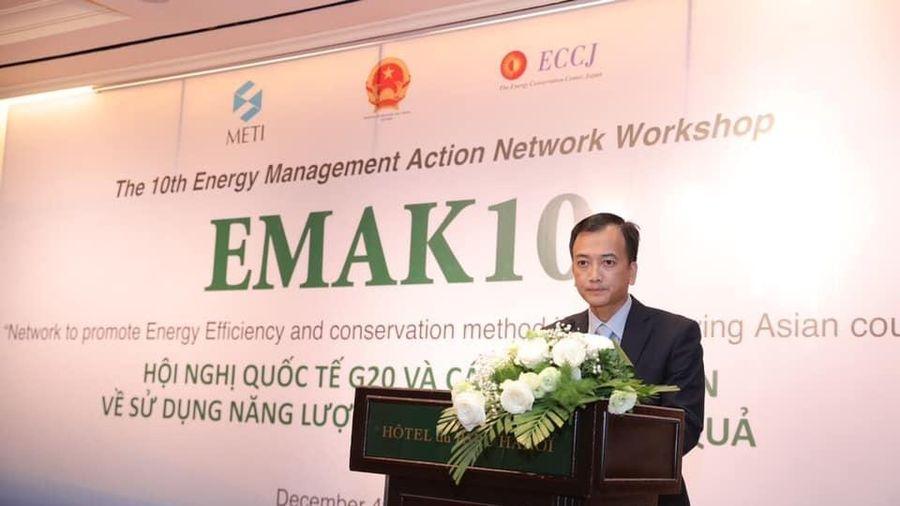 Tăng cường hợp tác quốc tế về năng lượng, tiết kiệm năng lượng