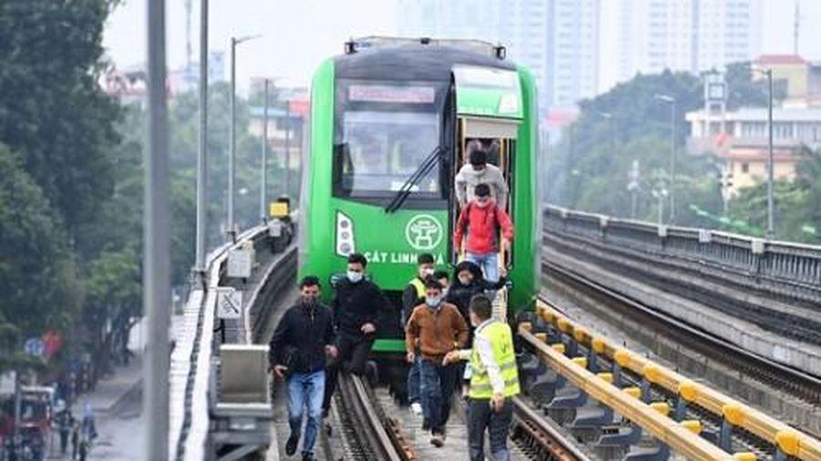 Tái khởi động dự án đường sắt Cát Linh - Hà Đông, chuẩn bị chạy thử toàn hệ thống tháng 12