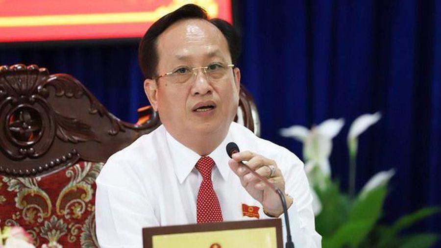 Phê chuẩn chức Chủ tịch UBND tỉnh Bạc Liêu