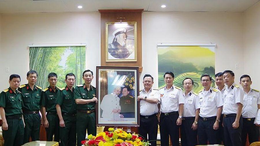 Kiểm tra học viên liên kết đào tạo tại Học viện Hải quân