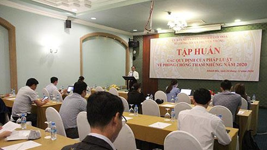 Tập huấn quy định về phòng, chống tham nhũng