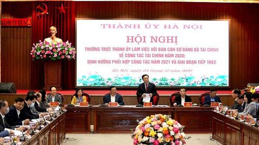 Hà Nội sẽ hoàn thành các chỉ tiêu tài chính - ngân sách nhiệm kỳ