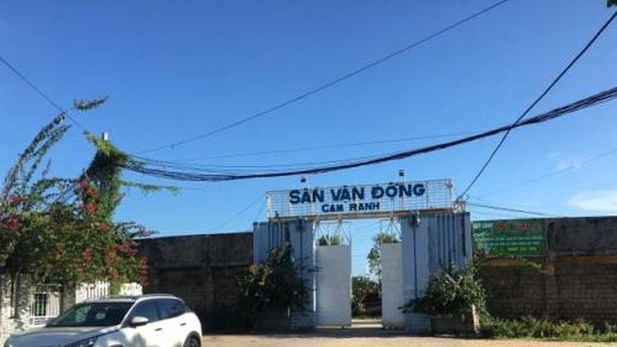 Khánh Hòa: Cho thuê 18.000 m2 'đất vàng' sân vận động Cam Ranh với giá bèo