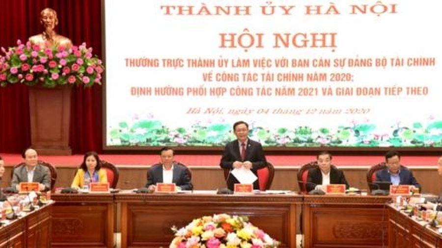 Hà Nội đề nghị Bộ Tài chính tháo gỡ 31 điểm nghẽn