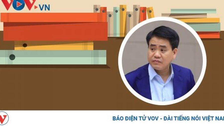 Vụ án ông Nguyễn Đức Chung chiếm đoạt tài liệu bí mật nhà nước