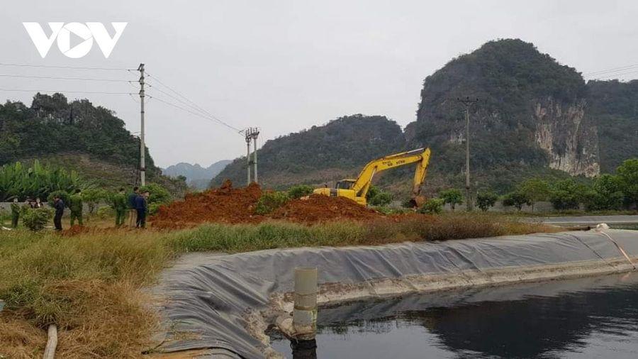 Phát hiện công ty chế biến nông sản BHL Sơn La xả nước thải chưa xử lý ra môi trường