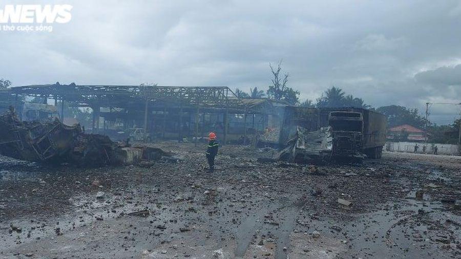 Xe chở pháo hoa phát nổ gần cửa khẩu Lao Bảo: Thông tin mới nhất