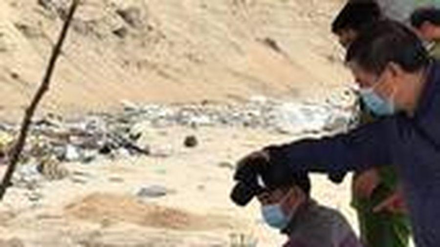 Phát hiện thi thể không đầu nghi của người nước ngoài trôi vào bờ biển Huế
