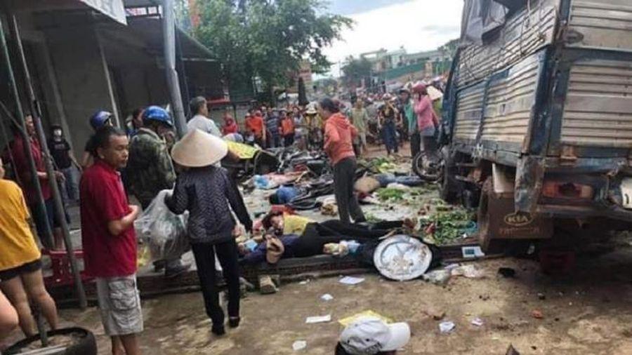 Truy tố tài xế xe tải gây tai nạn khiến 6 người chết ở Đắk Nông