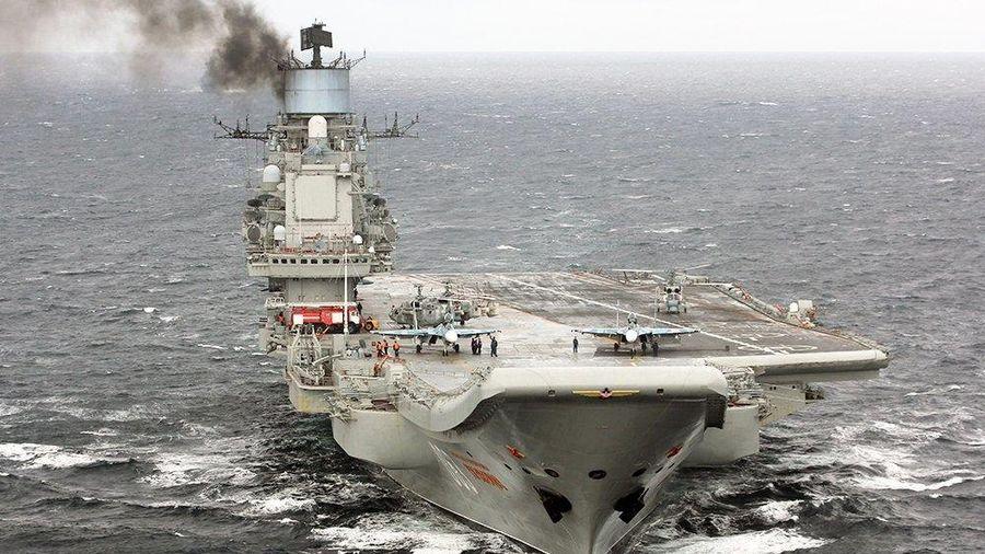 Tàu sân bay Đô đốc Kuznetsov của Hải quân Nga sắp trở lại đại dương