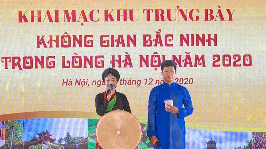 400 gian hàng trưng bày tại 'Không gian Bắc Ninh trong lòng Hà Nội năm 2020'