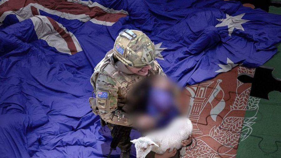 Đằng sau chiến dịch phát tán ảnh giả vụ lính Australia cắt cổ trẻ em