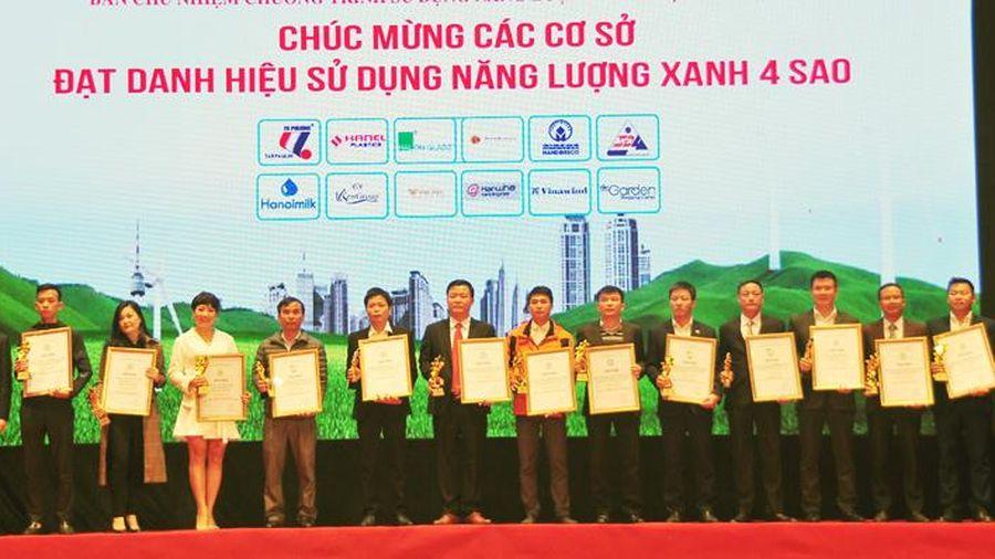 Hà Nội vinh danh 42 cơ sở, công trình xây dựng sử dụng năng lượng xanh năm 2020