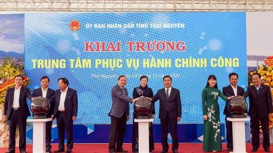 Thái Nguyên: Đưa vào sử dụng Trung tâm phục vụ hành chính công