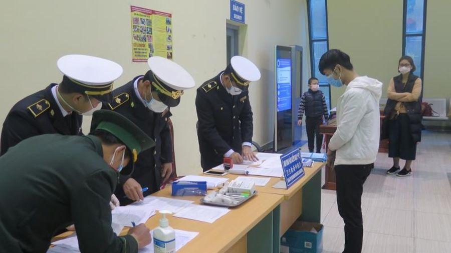 Tăng cường kiểm soát phòng, chống dịch Covid-19 tại cửa khẩu, vùng biên giới Lạng Sơn