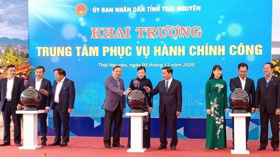 Thái Nguyên khai trương Trung tâm phục vụ hành chính công