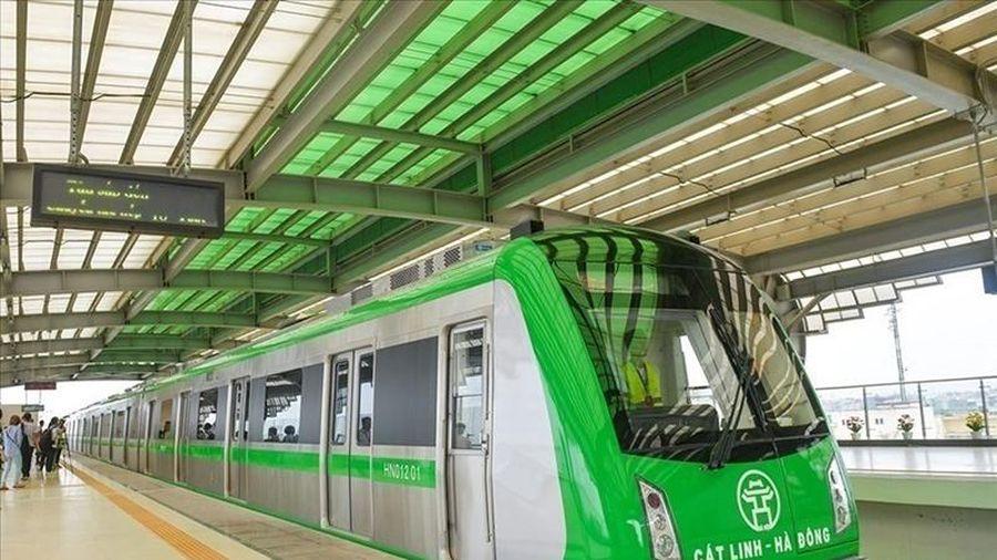 Ngày 12-12, vận hành thử toàn hệ thống tuyến đường sắt Cát Linh-Hà Đông