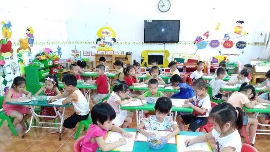 Tập cho trẻ Mầm non thích ứng cuộc sống trường Tiểu học