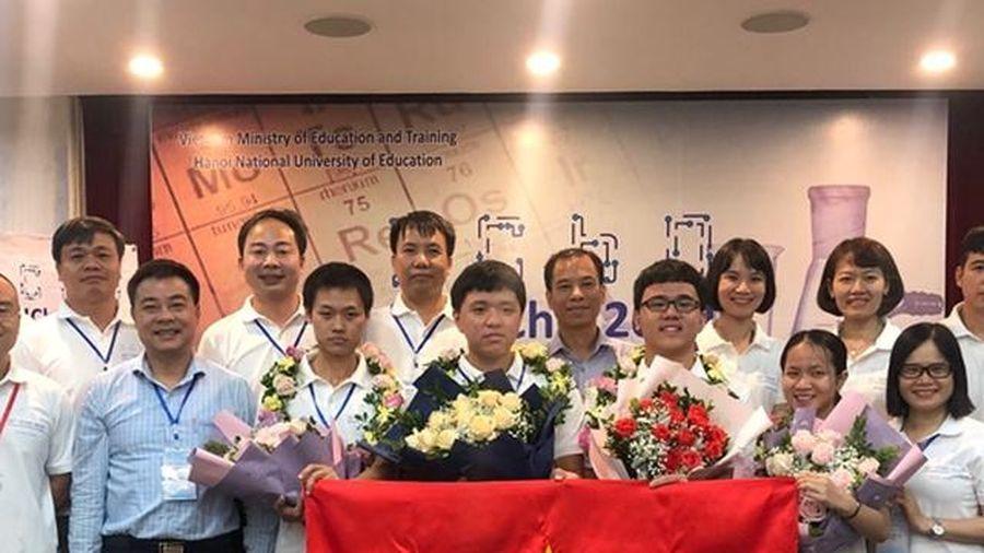 Dấu ấn 5 năm HS Việt Nam ở 'sân chơi' trí tuệ khu vực, quốc tế