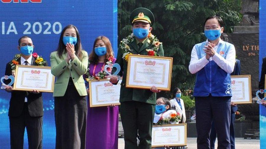 Cán bộ BĐBP Quảng Trị được trao Giải thưởng Tình nguyện Quốc gia năm 2020