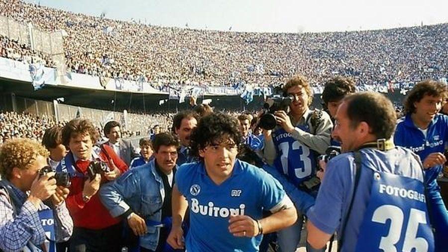 Napoli chính thức đổi tên sân để tưởng nhớ Diego Maradona